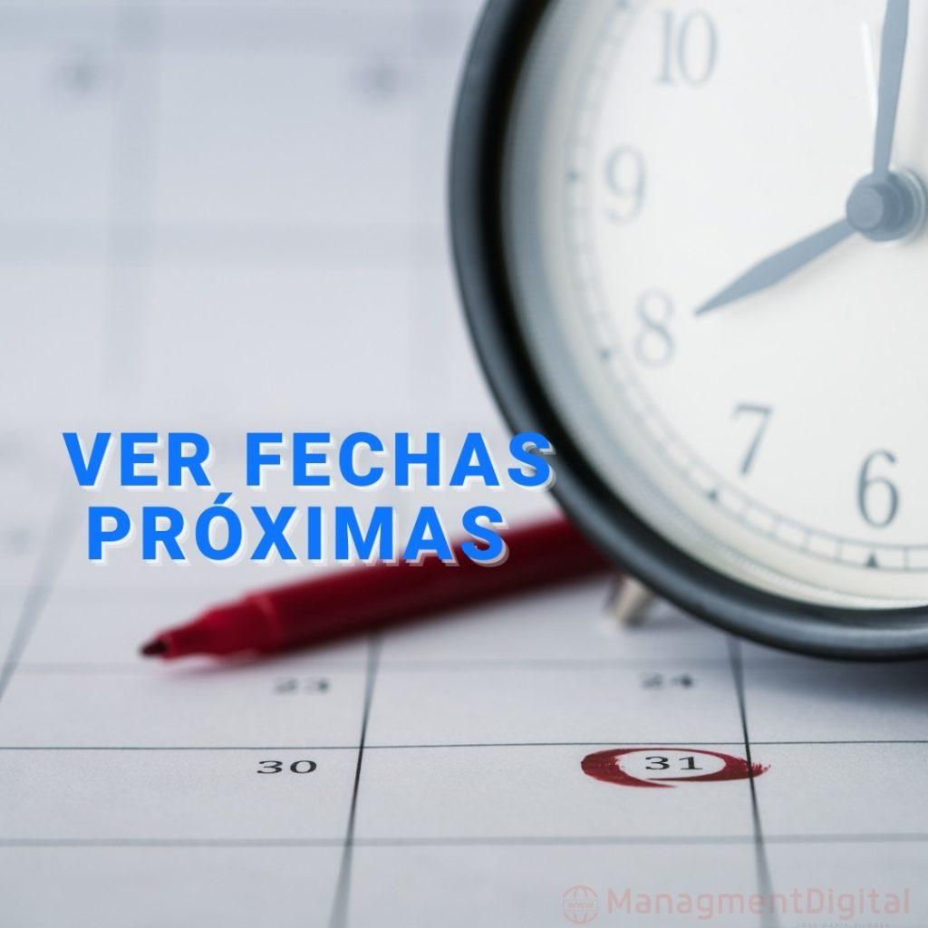 Fechas Metodo Silva 2021